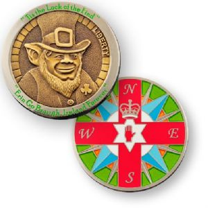 Luck Of The Find (Leprechaun) Geocoin